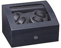 Шкатулка для подзавода часов, тайммувер для 4-х часов Rothenschild RS-031TB
