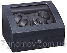 Скринька для підзаводу годин, тайммувер для 4-х годин Rothenschild RS-031TB