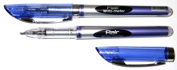 Ручка ʺFlairʺ №743 BL Writo-meter синяя (10км)