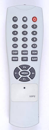 Пульт Elite 55P2 (TV) корп,BRAVIS P01S-N (CE)