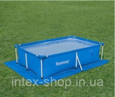 Подстилка для бассейна 58100 размер 295х206, фото 2
