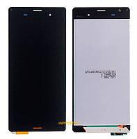 Дисплей (LCD) Sony D5803, D5833 Xperia Z3 Compact с сенсором (тачскрином) Black Original