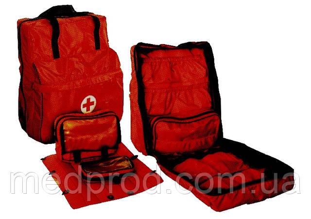 Сумка рюкзак спасателей МЧС и полевых госпиталей МО