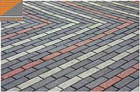 Тротуарная плитка - Кирпич 40мм, фото 1
