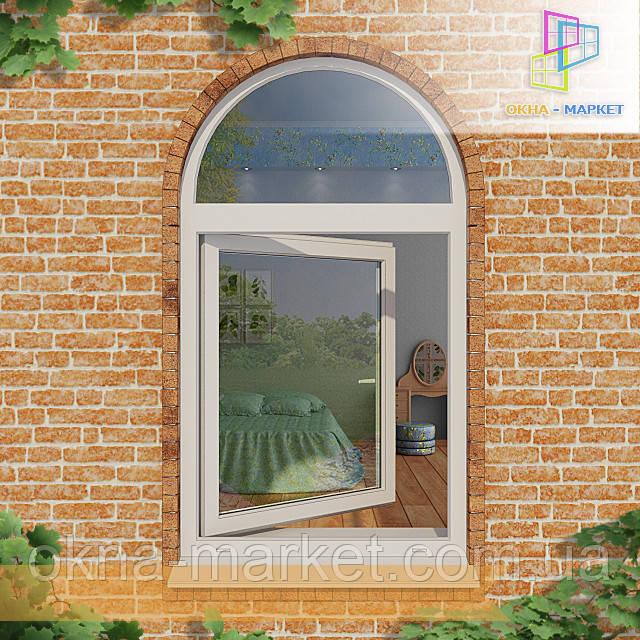 Пластиковые арочные окна Бровары