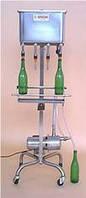 Полуавтоматический аппарат розлива тихих вин в бутылки, производство Италия. Модель RI 3 MЕА.