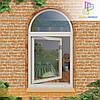 Металлопластиковые арочные окна Буча