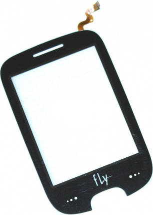 Сенсор FLY E155 (оригинал), тач скрин для телефона смартфона, фото 2