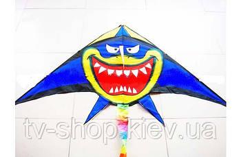 Змей воздушный Акула 160см