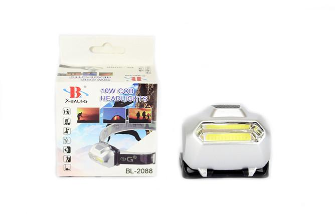 Ліхтарик налобний зі світлодіодами LED BL-2088
