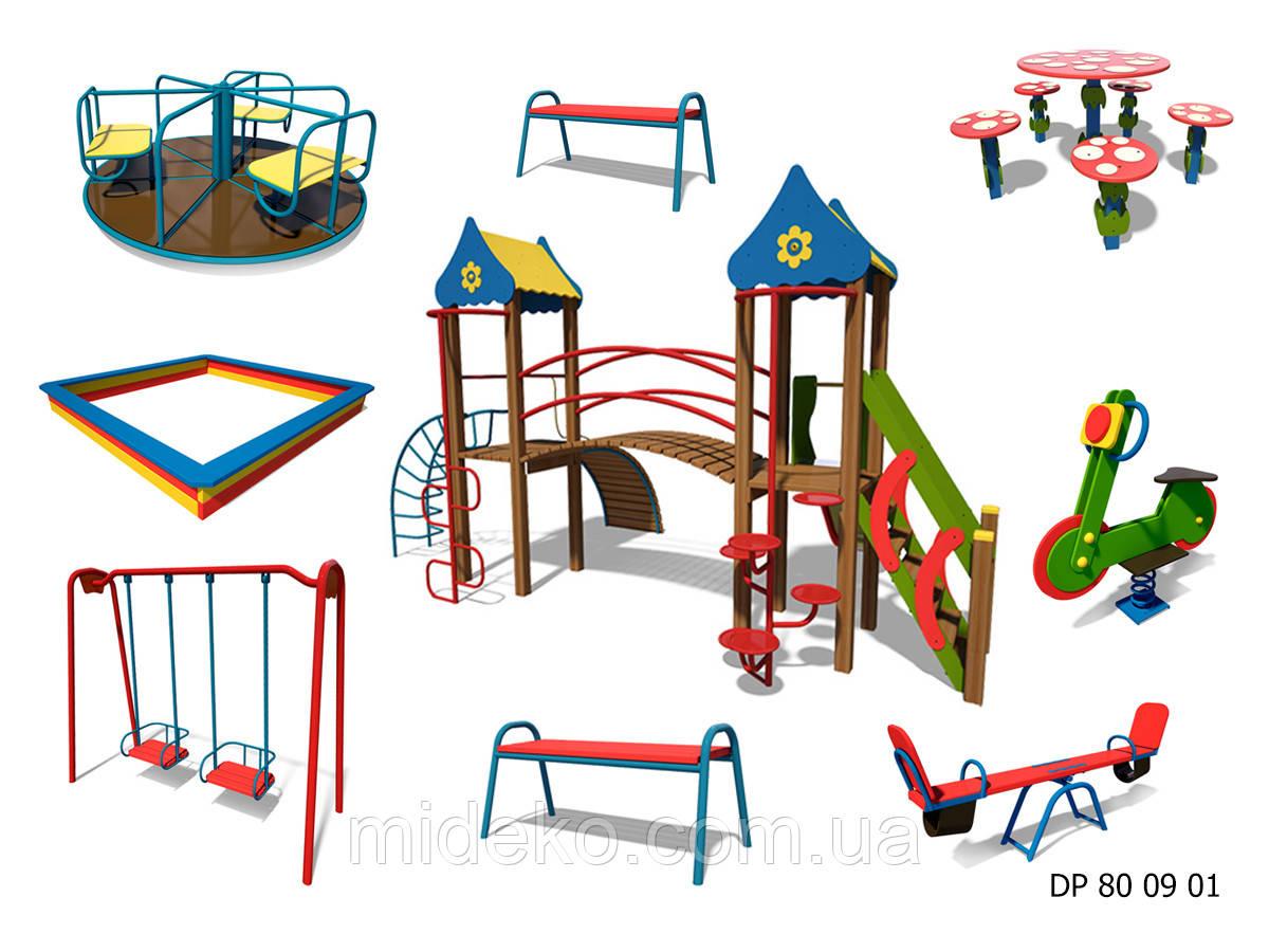 Детская площадка DP 80 09 01 Гномик