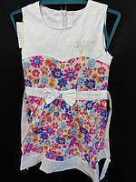 Трикотажное детское летнее платье