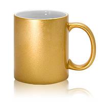 Чашка для сублимации Gold (золотой цвет)