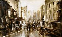«Нью Йорк, Нью Йорк...» картина маслом