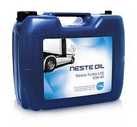 Cинтетическое дизельное моторное масло NesteTurbo LXE 10W-40(20L)