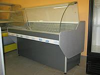 Витрина холодильная с гнутым стеклом 2000\900\1200
