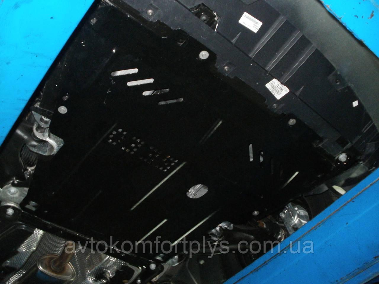 Металева (сталева) захист двигуна (картера) Renault Kangoo (2008-) (V-1,6; 1,5 CDI)