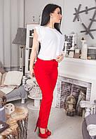 """Стильные женские брюки """"Габардин Классика"""" в расцветках"""