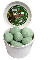 Камни для сауны жадеит шлифованный (крупный), 20 кг
