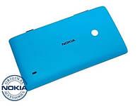 Задняя крышка для Nokia Lumia 520, Original, Синий /панель/корпус/накладка /нокиа