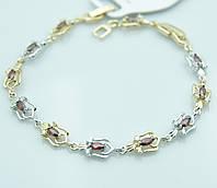 Женские браслеты Xuping недорого. Позолоченные украшения от RRR оптом. 60