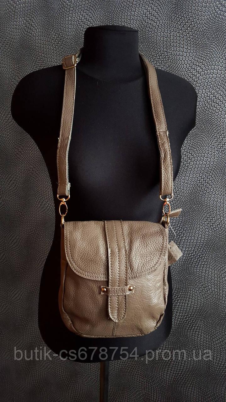 Женская сумочка Кросс боди Кожаная