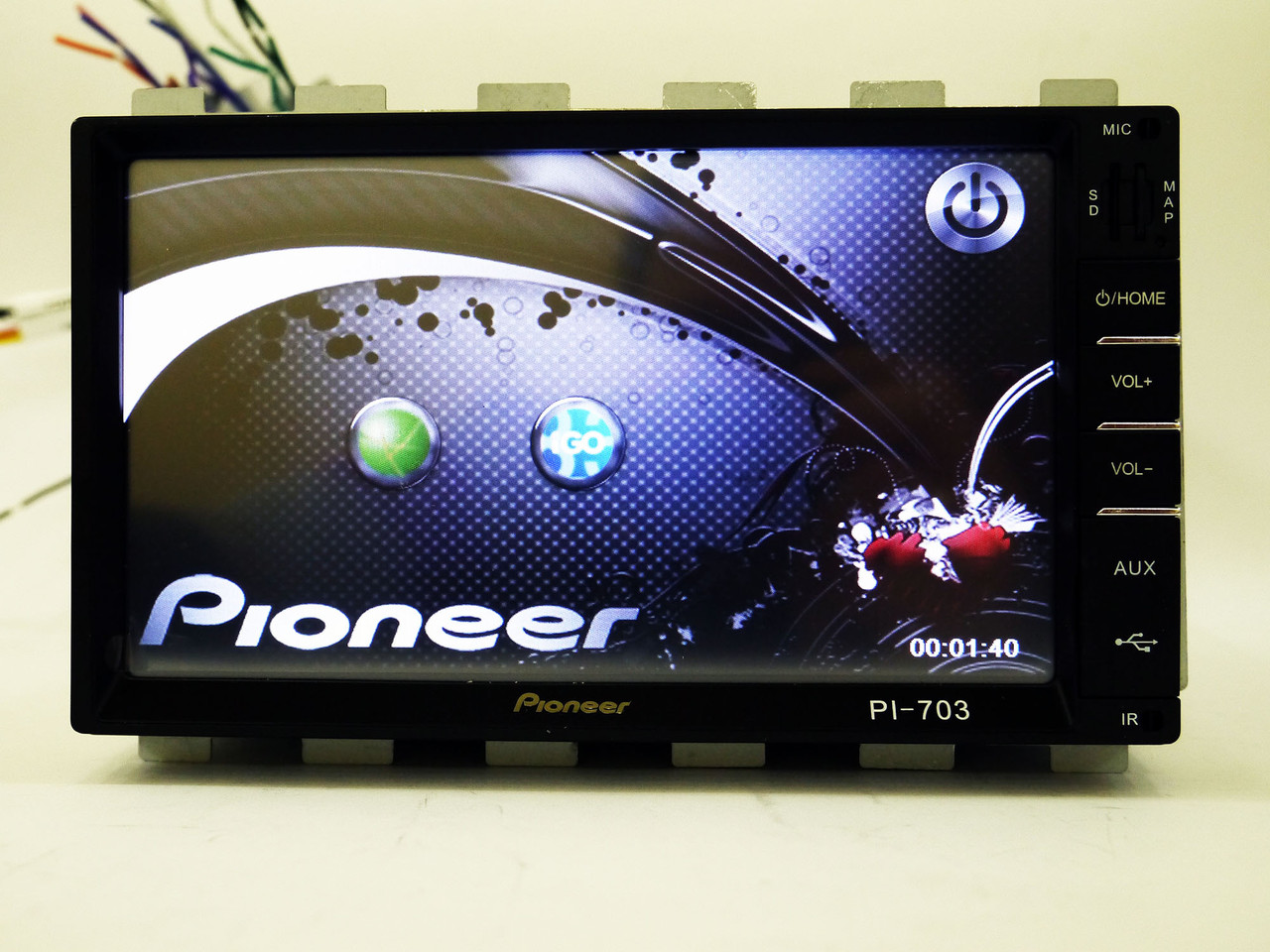 Магнитола Pioneer PI-703 2din GPS+USB+BT+TV