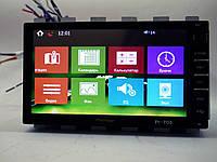 Магнитола Pioneer PI-703 2din GPS цветная камера и TV антенна