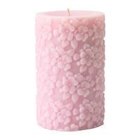 FULLGOD Формовая свеча, ароматическая, свежие цветы, розовый