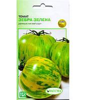 Томат 0,1 г (Раннеспелый/Зебра зеленая/Вассма)