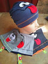 Трикотажные детские шапочки весна осень