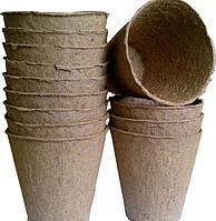 Торфяные горшки Jiffy 8*8 см, круглый