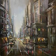 «Вечерний Нью Йорк» картина маслом