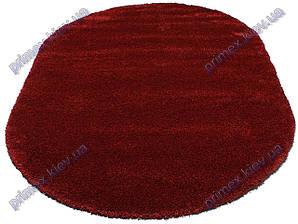 Ворсистый ковер Астория shaggy, однотонный красный
