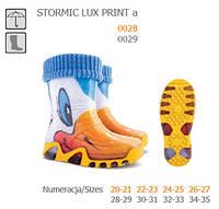 Резиновые сапоги DEMAR STORMIC LUX PRINT a (Утки)
