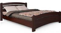 Кровать полуторная из натурального дерева Венеция 1,4м х 2,0м