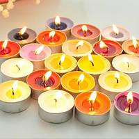 Свечи ароматизированные в стаканах