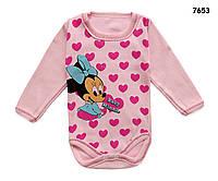 Боди Minnie Mouse для девочки. 1 мес, фото 1