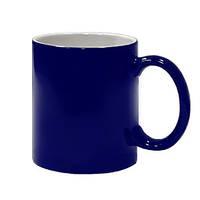 Чашка для сублимации ХАМЕЛЕОН глянцевая   (синяя)