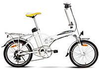 Электро велосипед компактный складной.