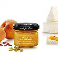 Сырный джем с испанскими персиками и абрикосом