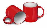 Чашка для сублимации ХАМЕЛЕОН глянцевая  (красная)