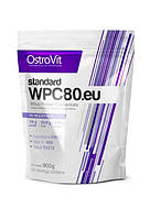 Standart WPC80 Protein Ostrovit, 900 грамм