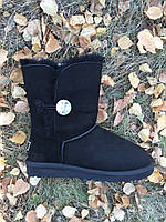 Женские угги UGG Bailey Button Bling (с кристаллом) (36,37,38,39,40,41)