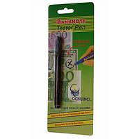 Детектор валют - карандаш для проверки денег banknote tester pen