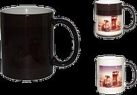 Чашка для сублимации ХАМЕЛЕОН  (черная)