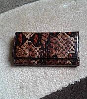 Женский кошелек кожаный для денег и визиток (DESISAN)