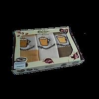 Набор кухонных полотенец Lotus Coffe 107