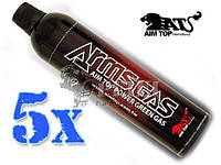 AimTop Green Gas 1100мл 5 баллонов