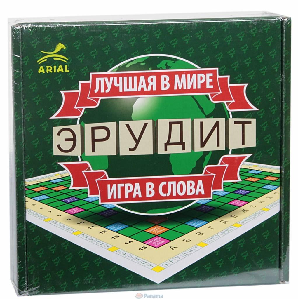 Настольная игра Эрудит (русская версия)